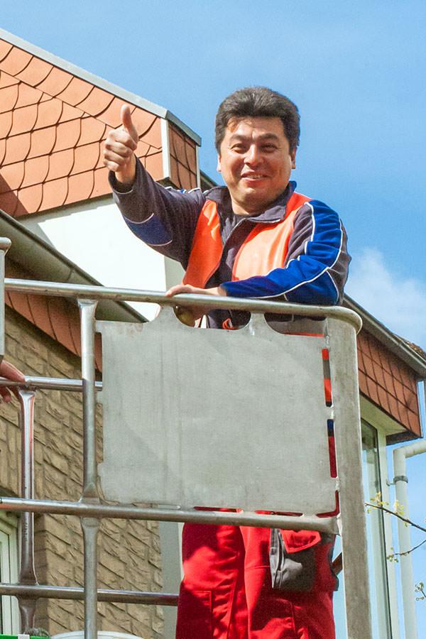 Luis Diaz (Gebäudereiniger Arbeiter)